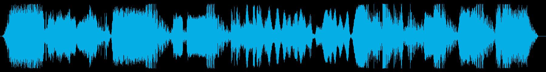 宇宙ロボットの一定の機械的機能応答の再生済みの波形