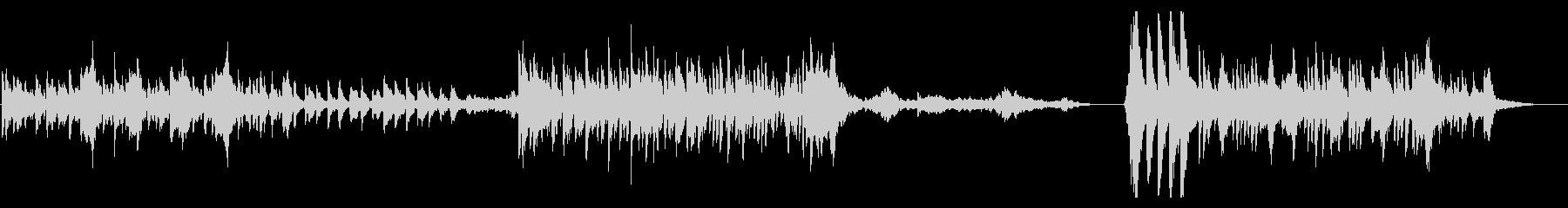オーケストラ楽器魔法のおとぎ話のテ...の未再生の波形