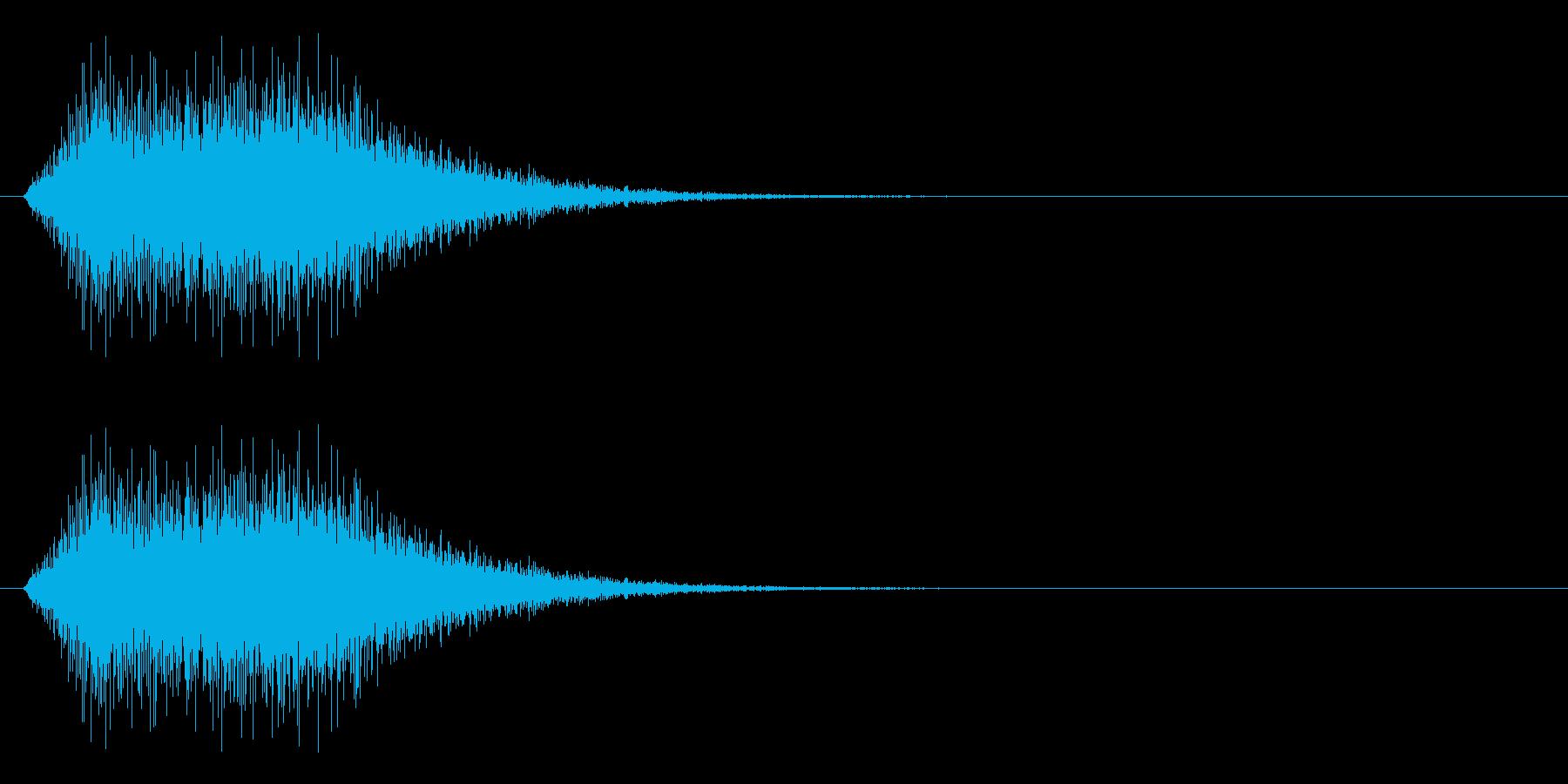 回復/アイテム使用/魔法の再生済みの波形