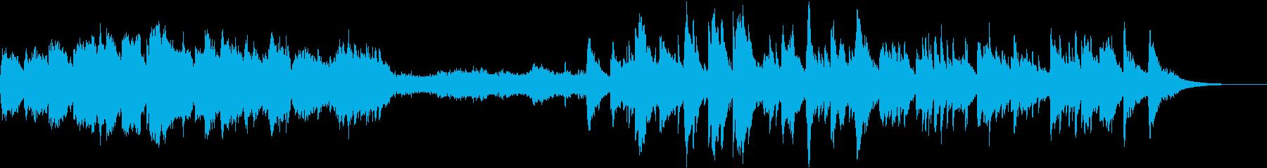 ファンタジー世界BGMの再生済みの波形