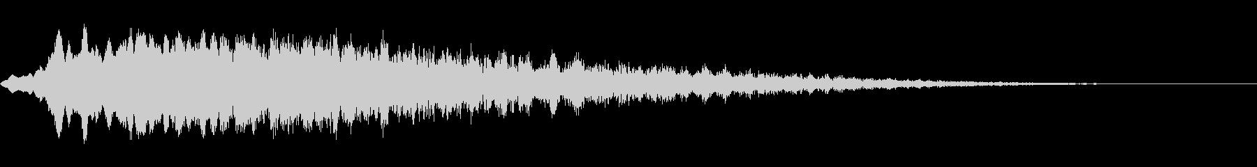 レトロスペーストーンスイープの未再生の波形