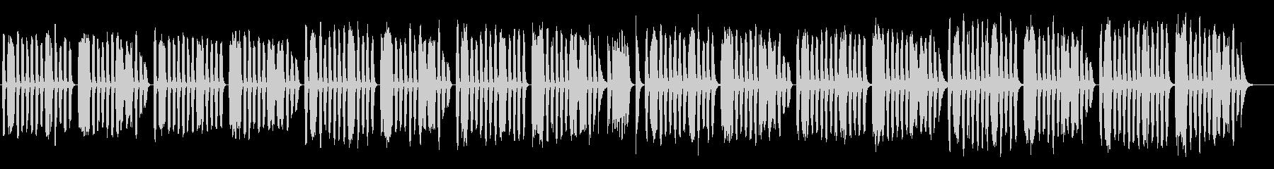 ゆる系BGM/のんびり/コミカルの未再生の波形