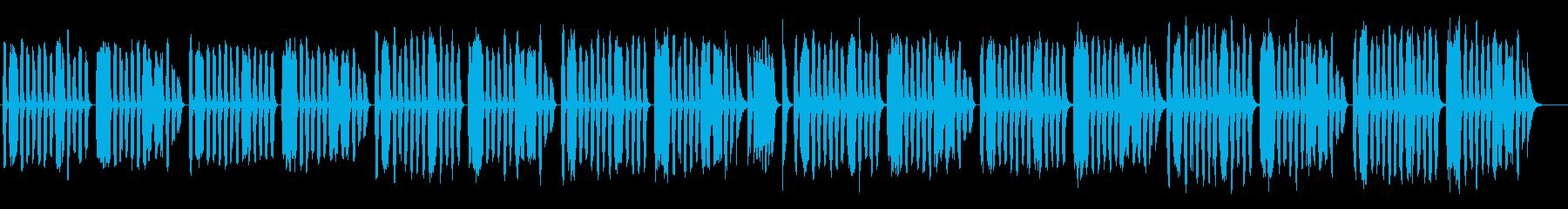 ゆる系BGM/のんびり/コミカルの再生済みの波形