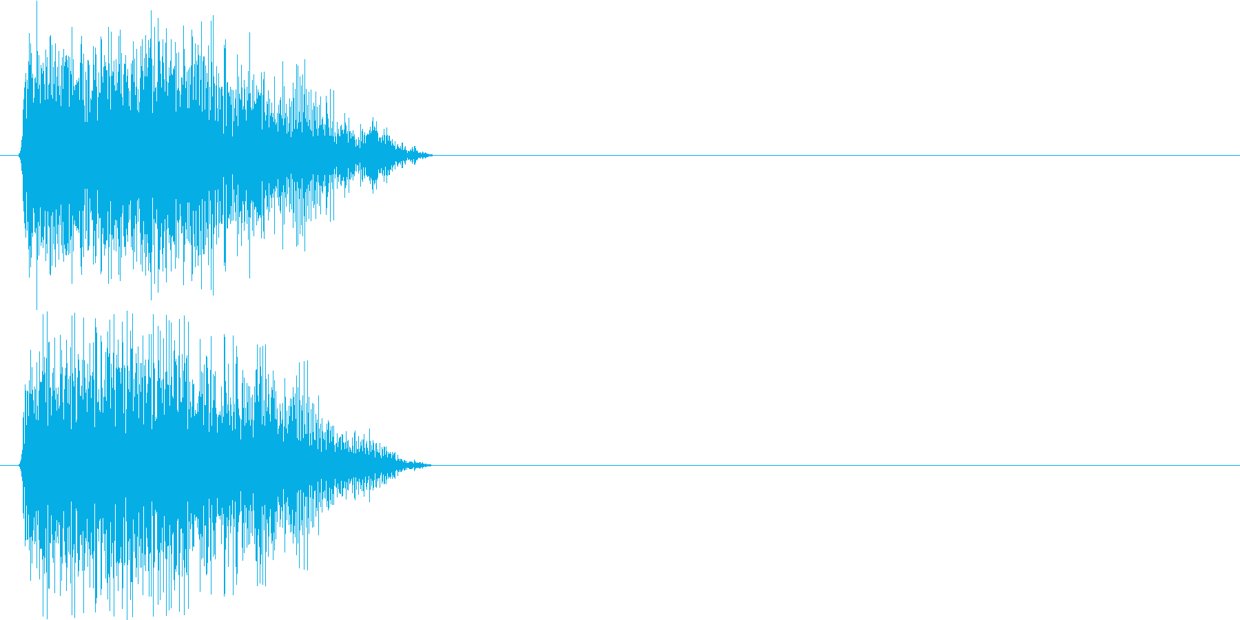 トゥーン!(ホーン系)の再生済みの波形