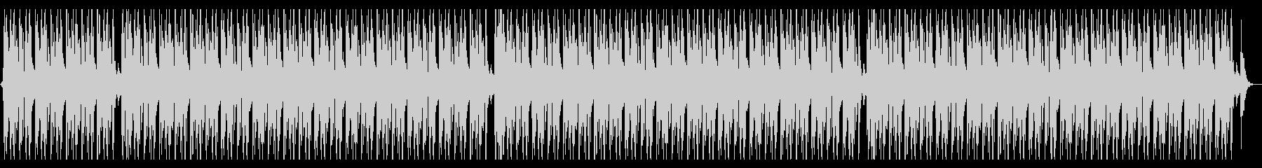 ジャズなローファイヒップホップの未再生の波形
