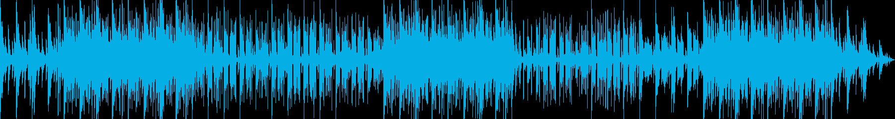 お洒落なピアノLoFi HipHopの再生済みの波形