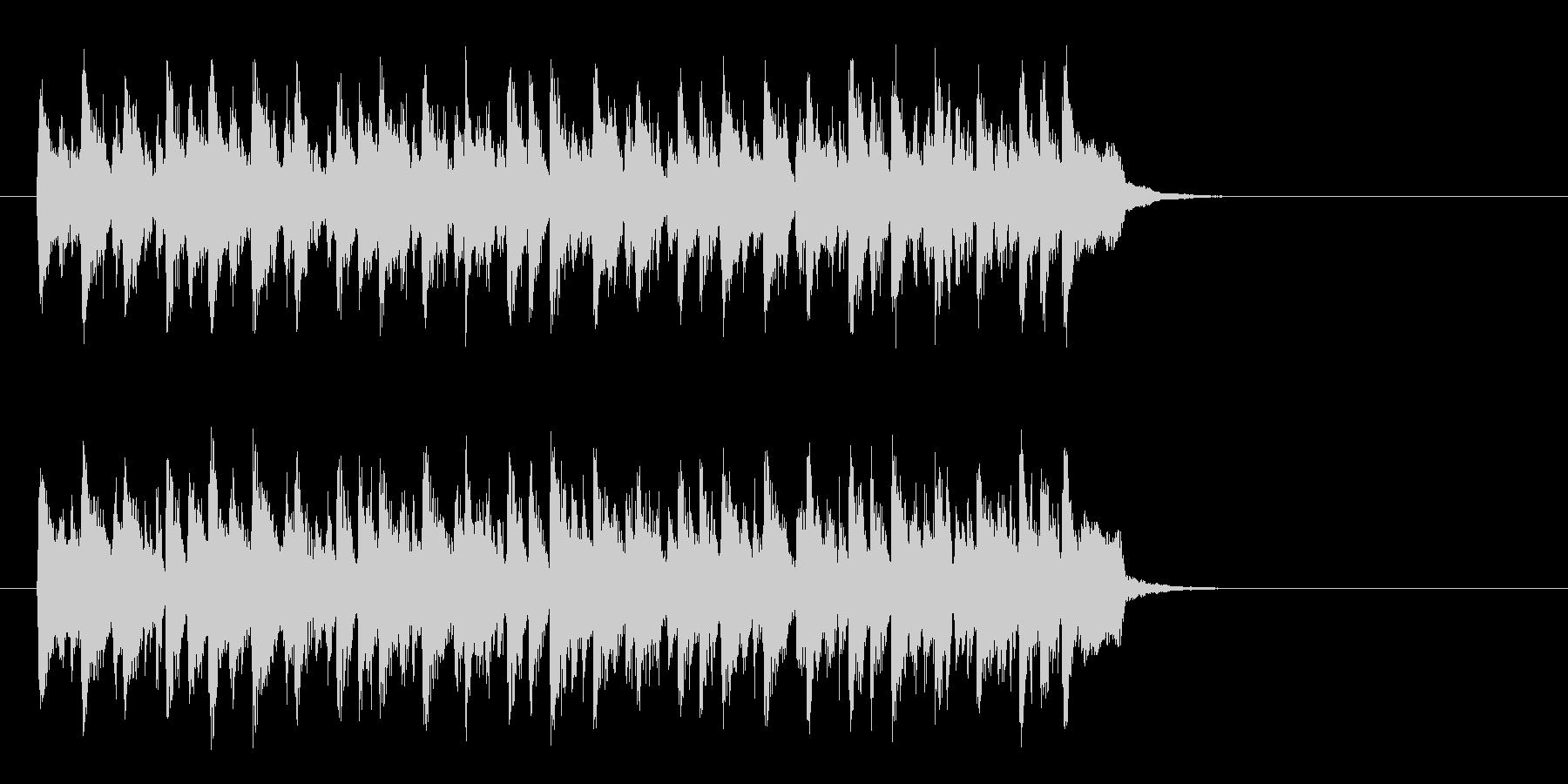 ワールド系サンバ風BGM(サビ)の未再生の波形
