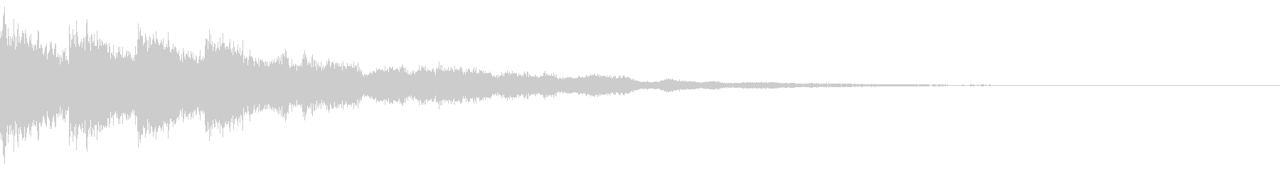 カットイン 魔法 クリティカル 決定の未再生の波形