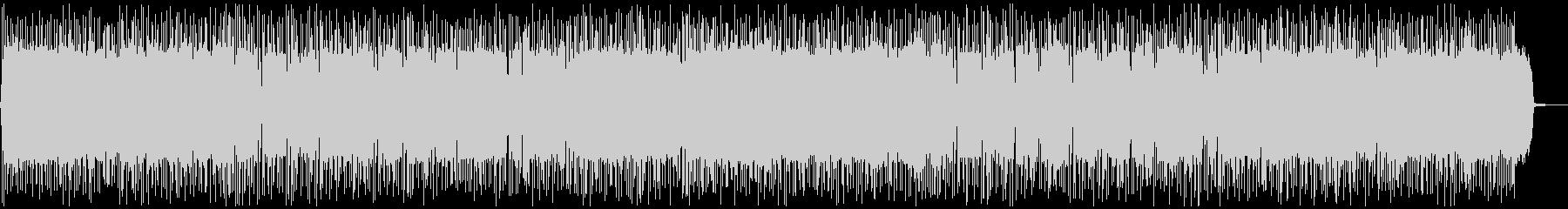 ノリノリ・盛り上がるギターポップ・ロックの未再生の波形