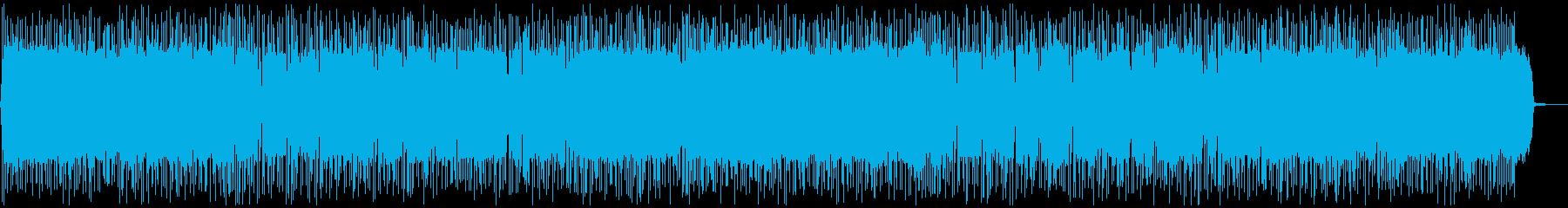 ノリノリ・盛り上がるギターポップ・ロックの再生済みの波形