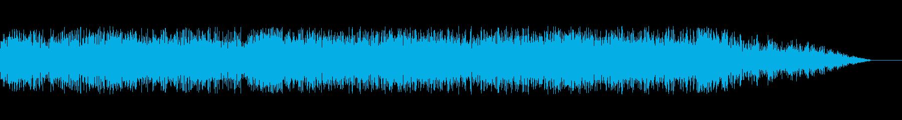 興奮とスリル満載のサウンドトラックの再生済みの波形