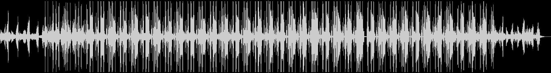 切ない HIPHOP R&B BGMの未再生の波形