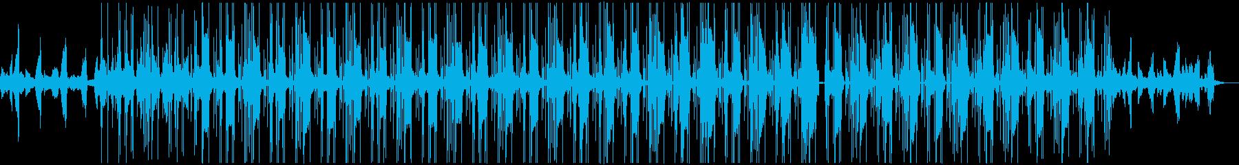 切ない HIPHOP R&B BGMの再生済みの波形