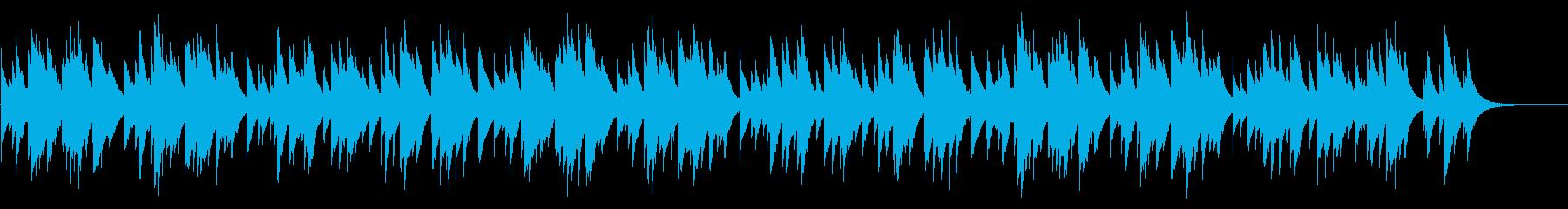 花 72弁オルゴールの再生済みの波形
