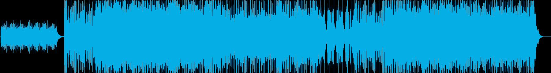 メタル 積極的 焦り 広い 壮大 ...の再生済みの波形
