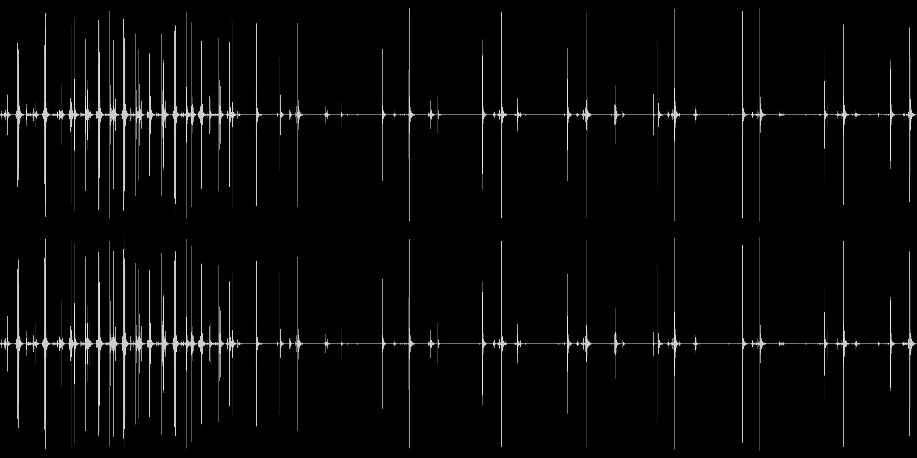 コーキングガン:プレストリガー、コ...の未再生の波形