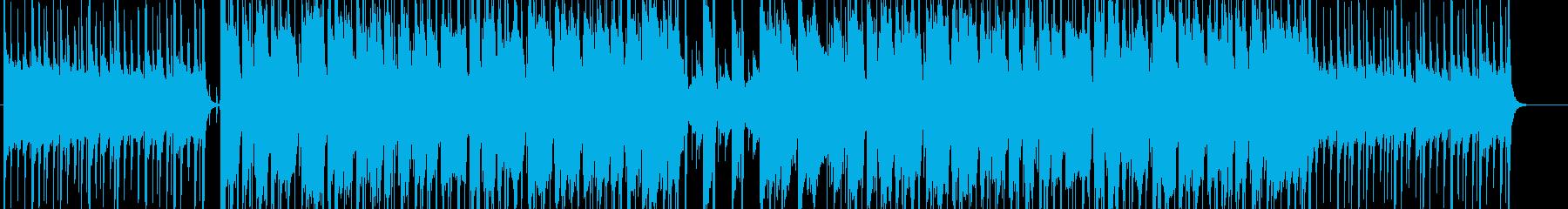 夕空を思わせる優しいBGMの再生済みの波形