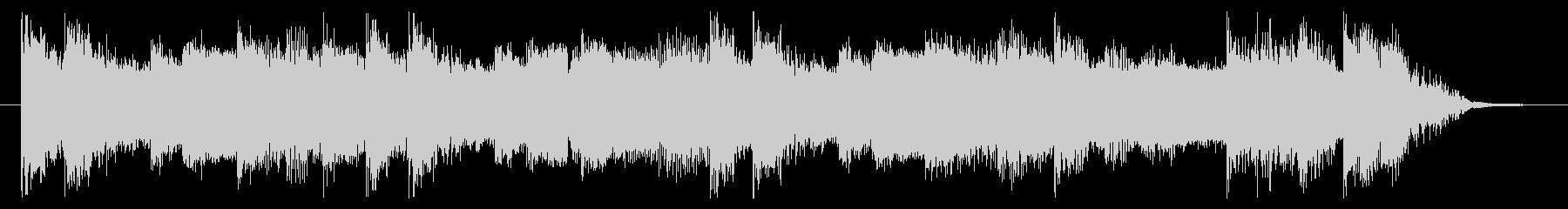 パワフル&クール、重厚なロックなロゴの未再生の波形