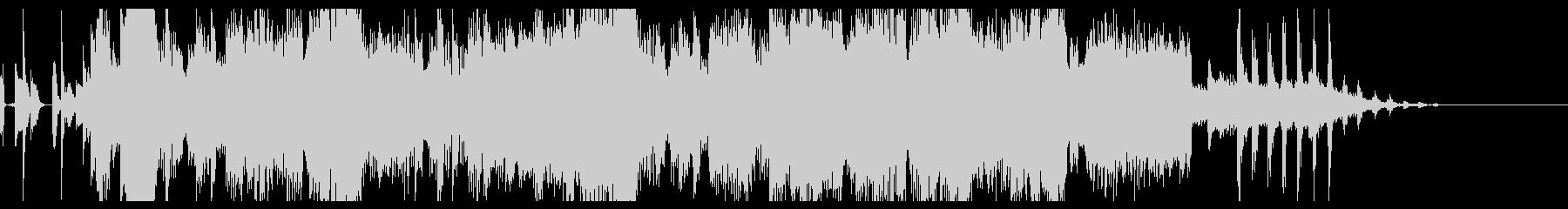 ファンクなグルーヴのボイス付きジングルの未再生の波形