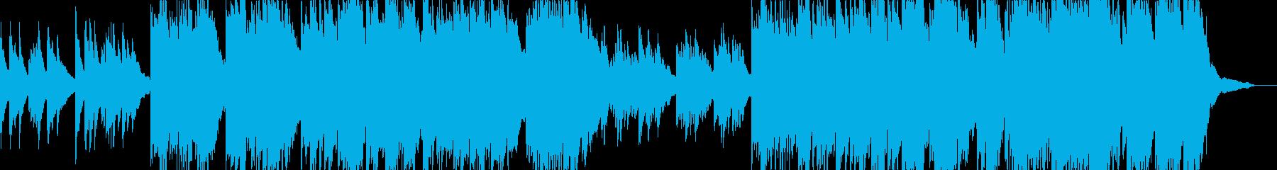 動画17 16bit48kHzVer.の再生済みの波形