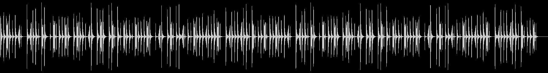 CM、木琴、説明、商品紹介系BGM6の未再生の波形