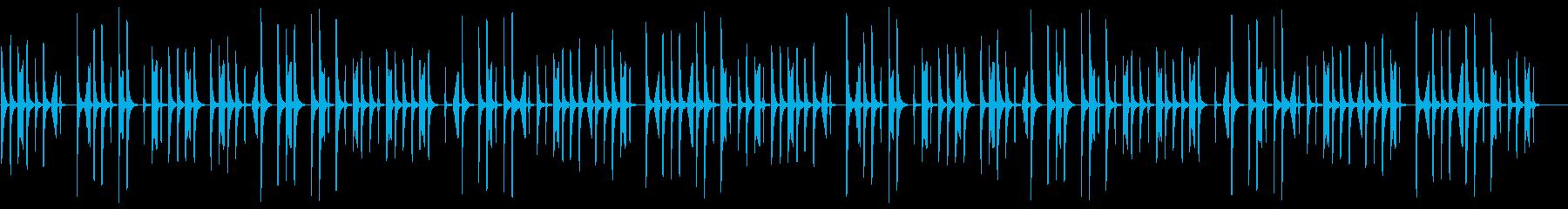 CM、木琴、説明、商品紹介系BGM6の再生済みの波形