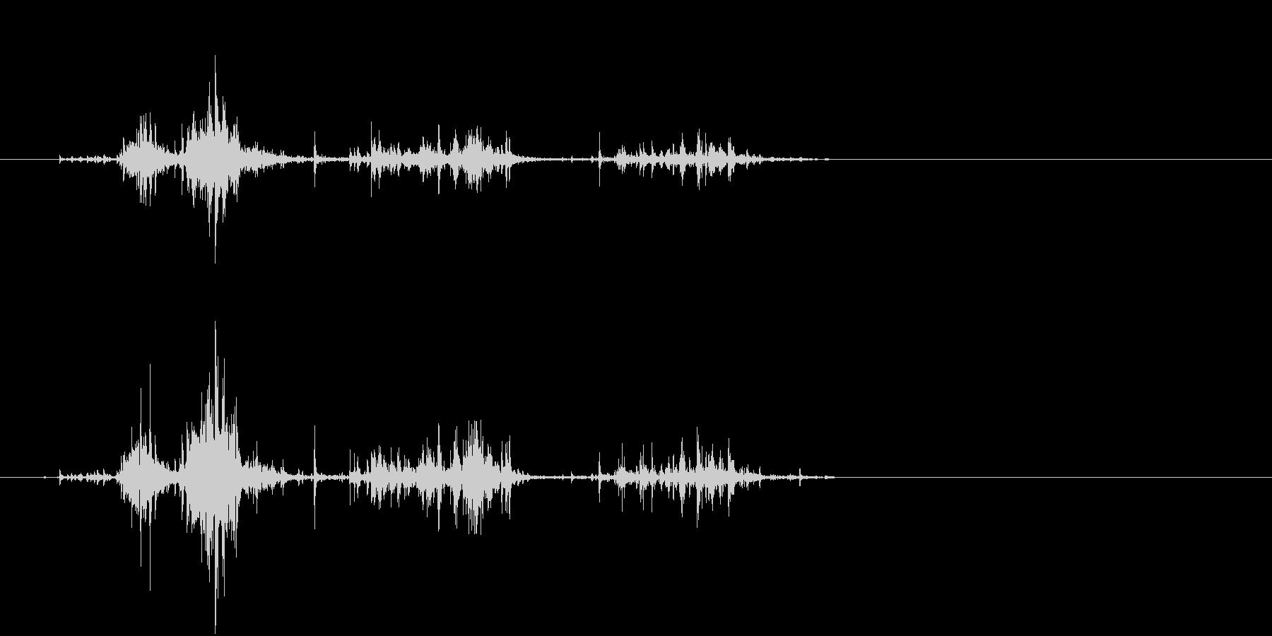 【生活音】サプリボトルふるカプセル02の未再生の波形
