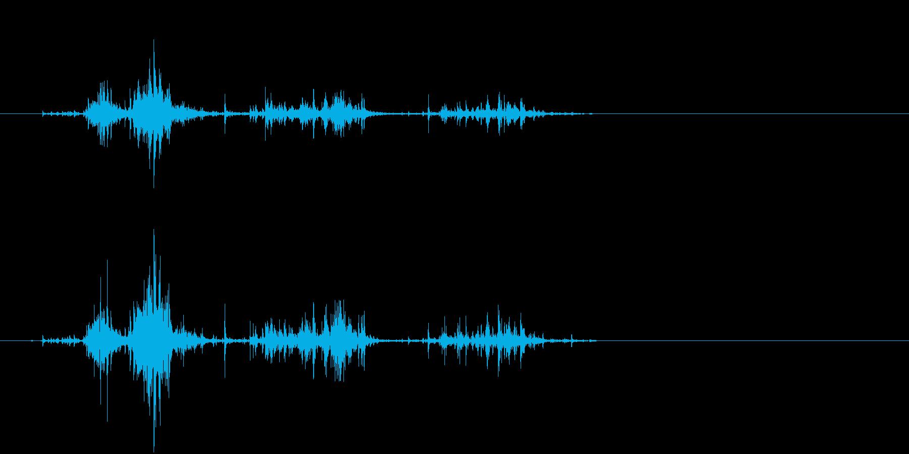 【生活音】サプリボトルふるカプセル02の再生済みの波形