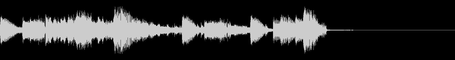 エレクトロなジングル・73の未再生の波形