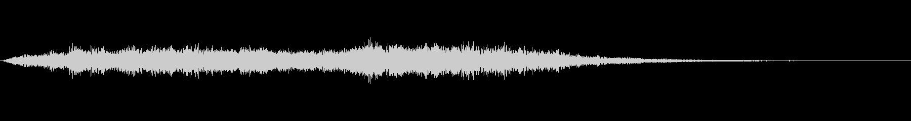 PC起動音風_ジングルの未再生の波形