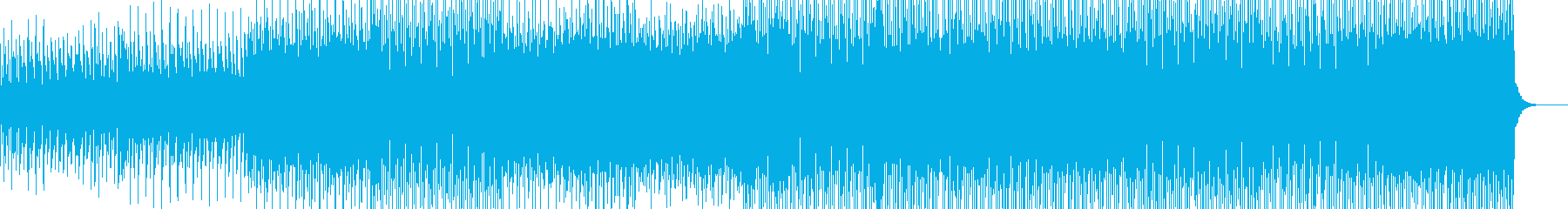 平調子の幻想的なアンビエントハウスの再生済みの波形