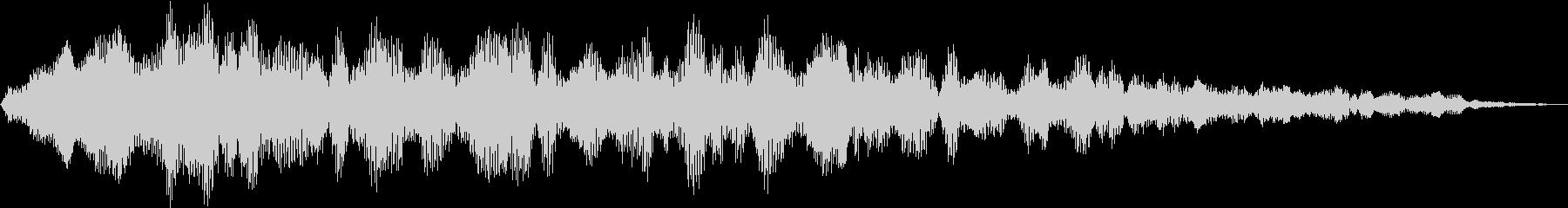 タイトルロゴに合うサウンド_06の未再生の波形