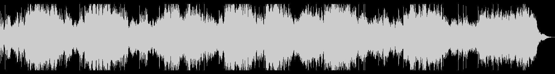 ベース入りミステリアス、ダークなBGMの未再生の波形