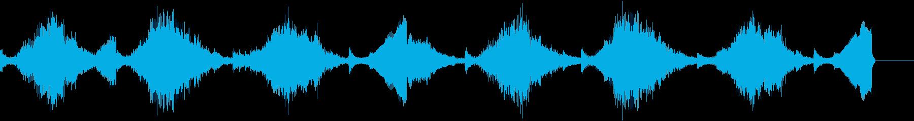 15秒・かわいい・ふわふわ・水・VRの再生済みの波形