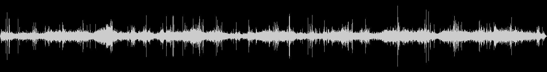ロッキーピアのメディウムウェーブ、...の未再生の波形