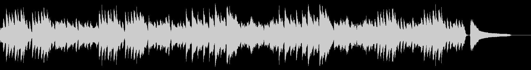 SNS広告 ピアノメイン ほのぼのの未再生の波形