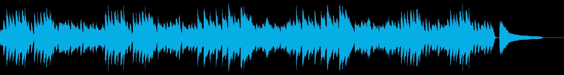 SNS広告 ピアノメイン ほのぼのの再生済みの波形