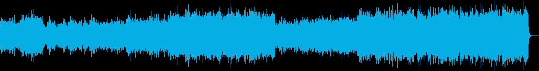 クラシック風のBGMですの再生済みの波形