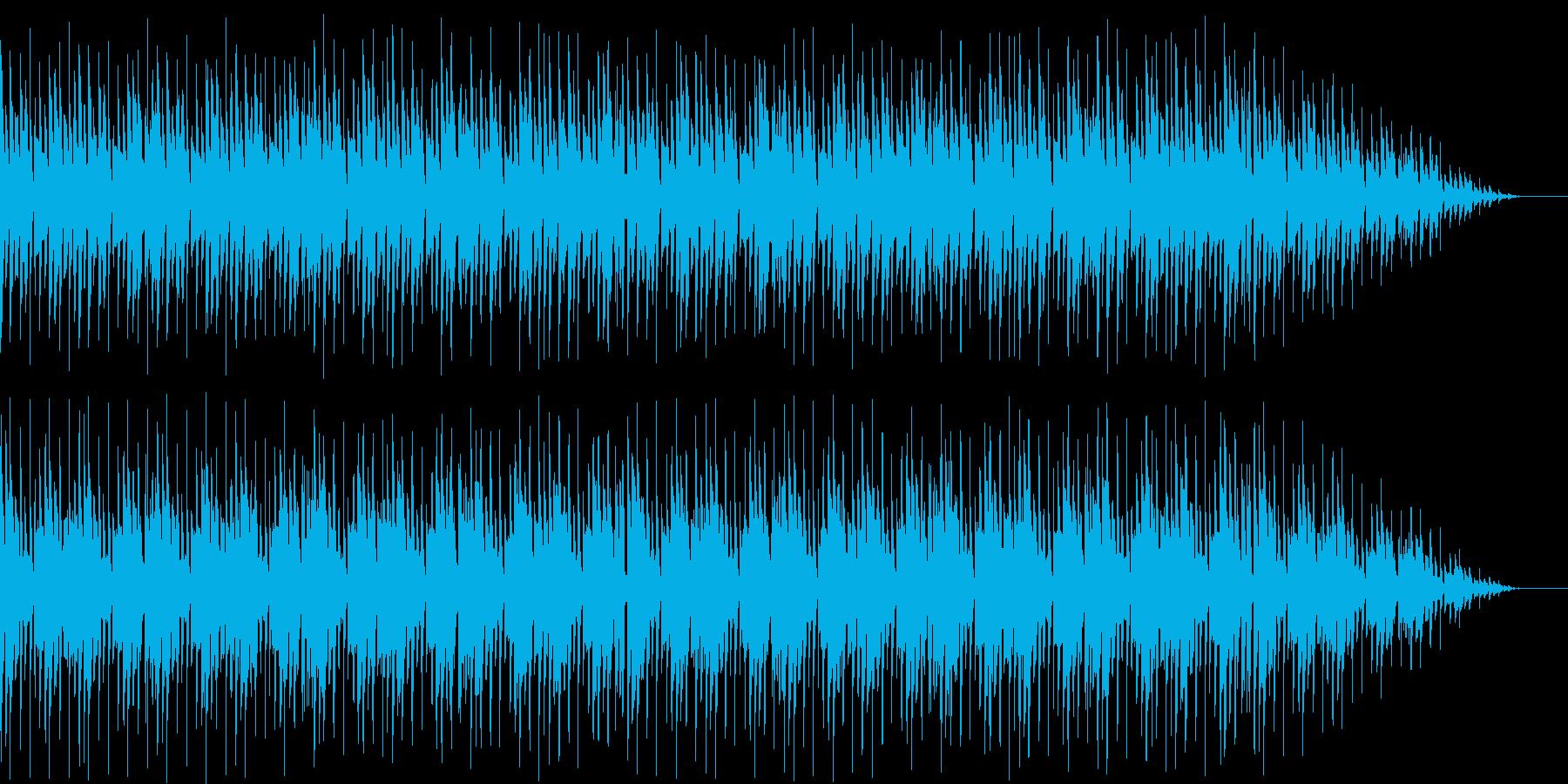 コミカルなキャラ チップチューン風の再生済みの波形
