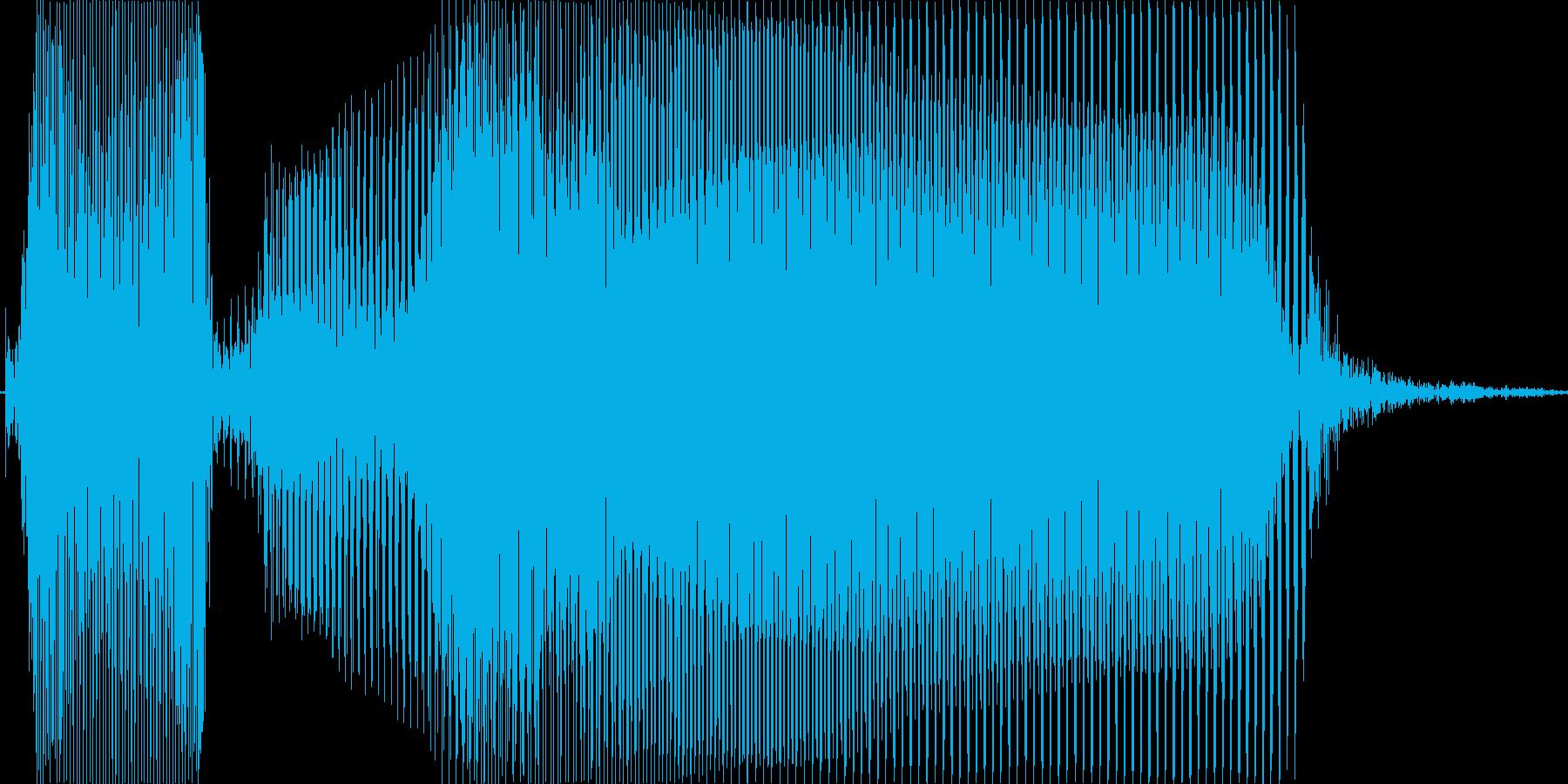 撮るよ~!の再生済みの波形