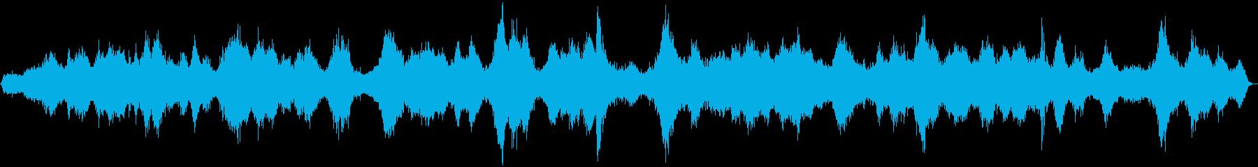 交通量の多い道路の効果音 04の再生済みの波形