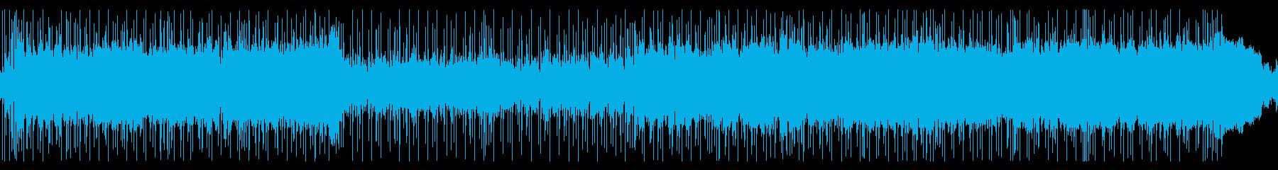 激しめ 爽やか ポップロックの再生済みの波形