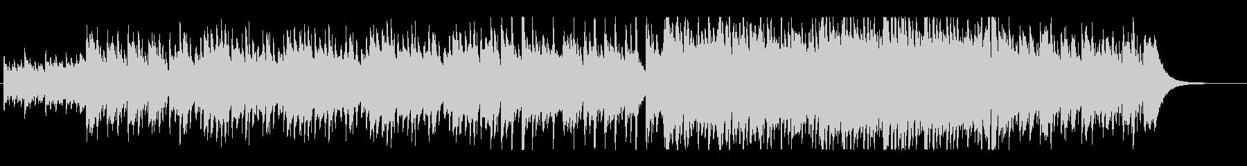 ピアノが煌びやかなジャズワルツbの未再生の波形