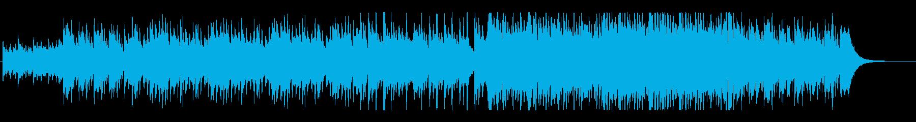 ピアノが煌びやかなジャズワルツbの再生済みの波形