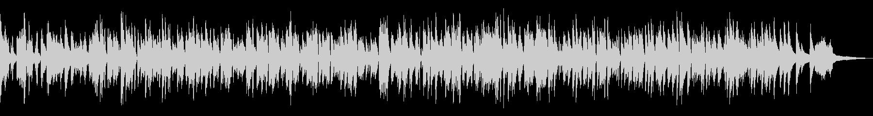 ラウンジ風ボサノバBGM/ピアノトリオの未再生の波形