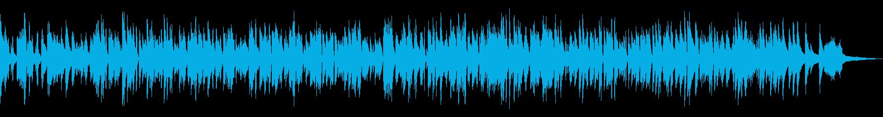 ラウンジ風ボサノバBGM/ピアノトリオの再生済みの波形