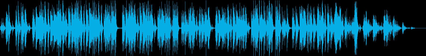 圏内の歌の再生済みの波形