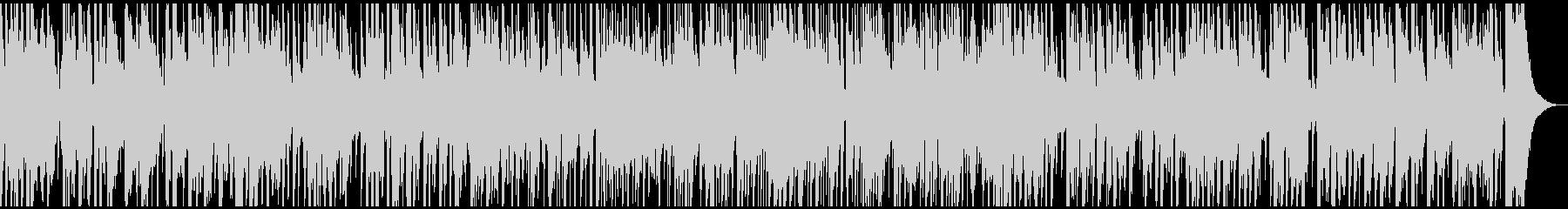 生音バイオリンとマンドリンの軽快ワルツの未再生の波形