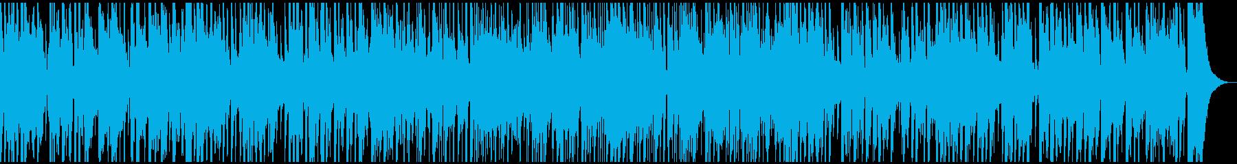 生音バイオリンとマンドリンの軽快ワルツの再生済みの波形