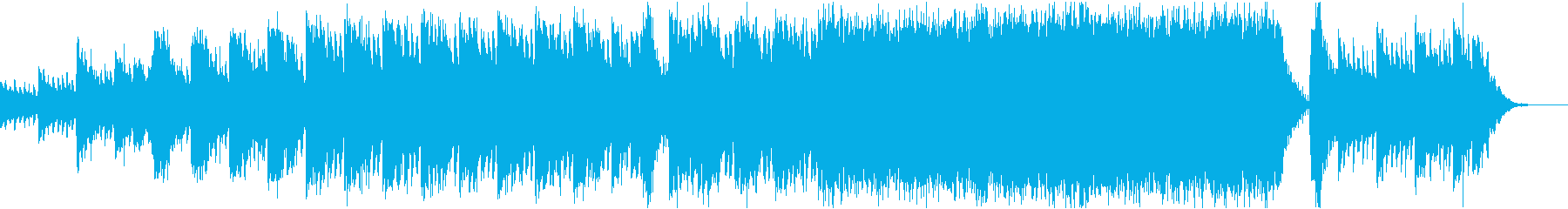深い弦の歌詞のピアノ、パワフルなウェーブの再生済みの波形